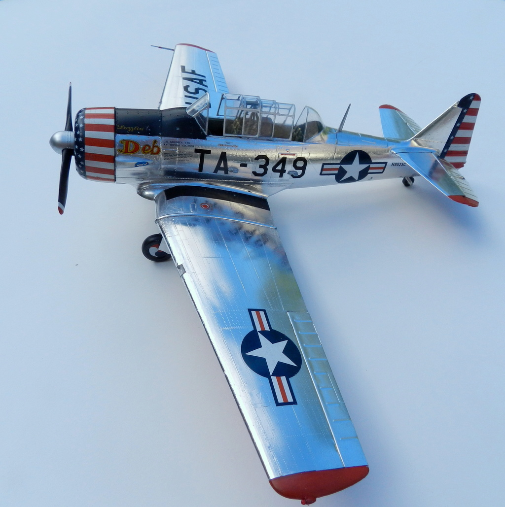 "Texan T-6 C TA-349 ""Dazzlin' Deb"" - Col. Thomas E. Murphy - 47th Flying Trainig Wing USAF Dscn0510"