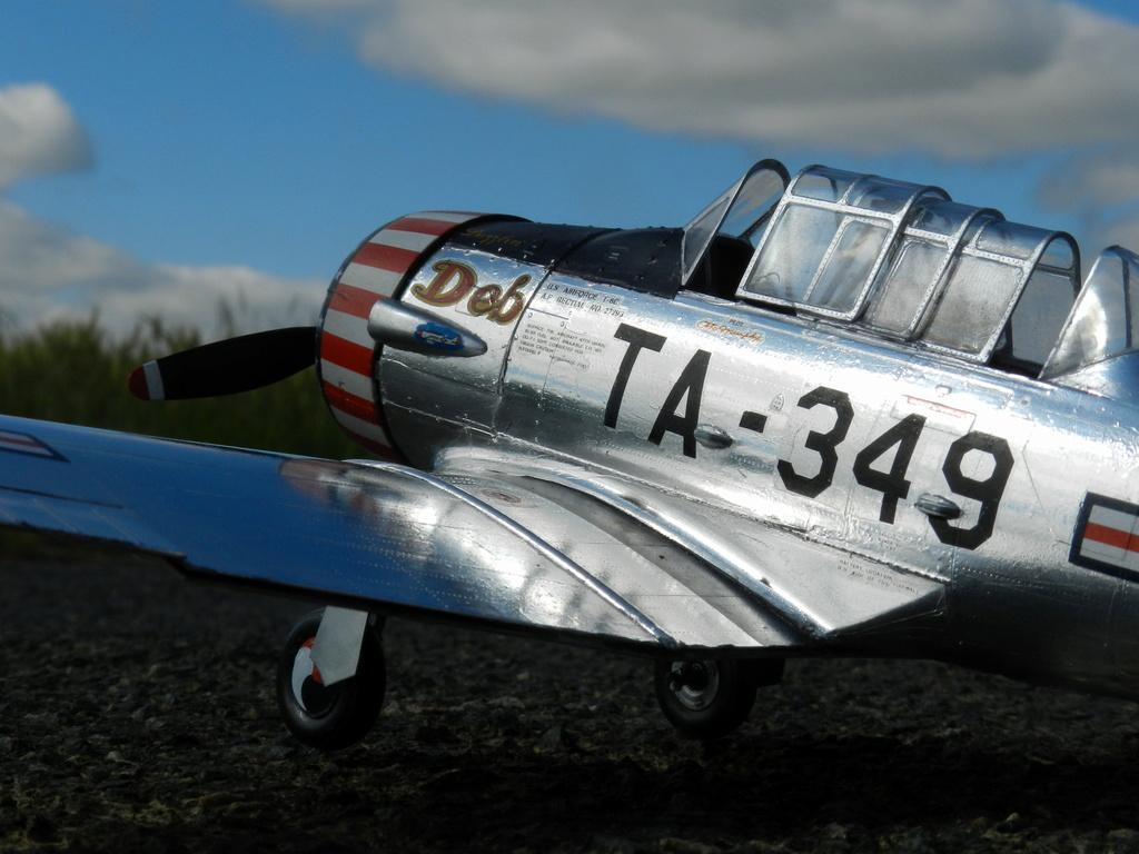 "Texan T-6 C TA-349 ""Dazzlin' Deb"" - Col. Thomas E. Murphy - 47th Flying Trainig Wing USAF Ext0110"