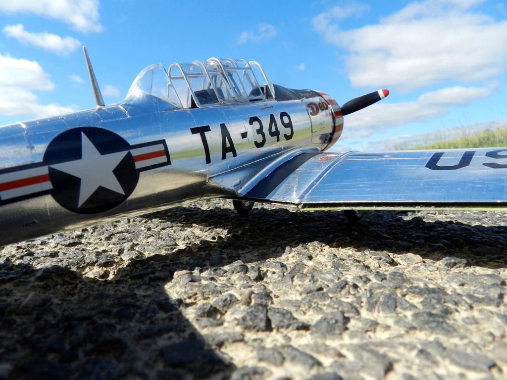 "Texan T-6 C TA-349 ""Dazzlin' Deb"" - Col. Thomas E. Murphy - 47th Flying Trainig Wing USAF Ext0710"