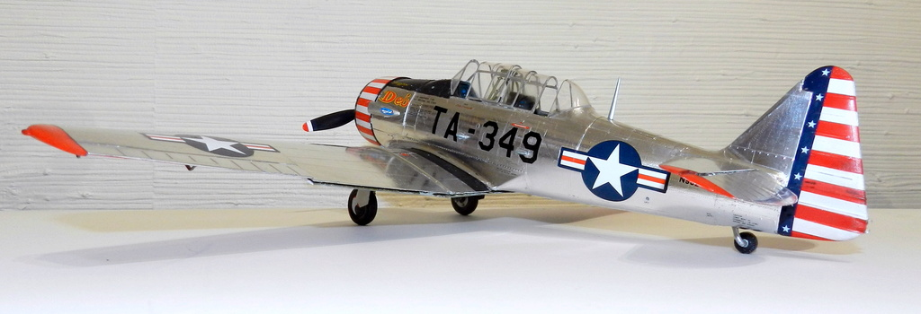 "Texan T-6 C TA-349 ""Dazzlin' Deb"" - Col. Thomas E. Murphy - 47th Flying Trainig Wing USAF F00310"