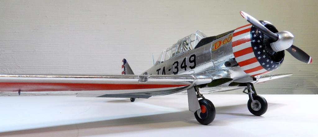 "Texan T-6 C TA-349 ""Dazzlin' Deb"" - Col. Thomas E. Murphy - 47th Flying Trainig Wing USAF F00511"