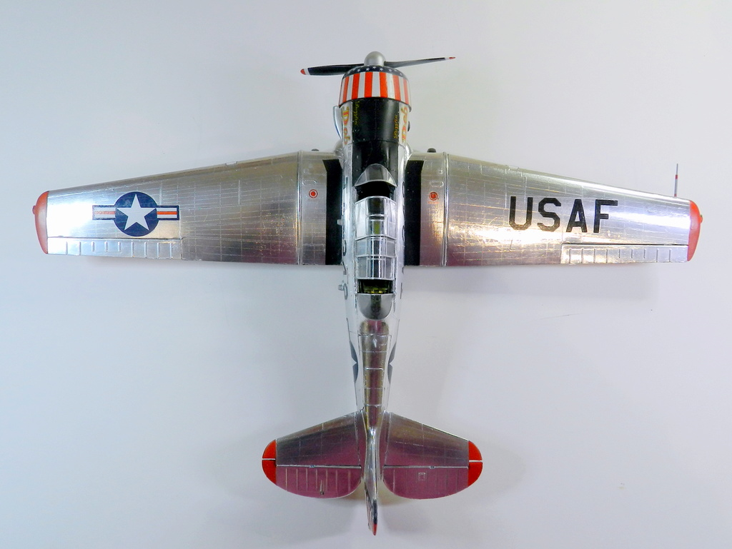 "Texan T-6 C TA-349 ""Dazzlin' Deb"" - Col. Thomas E. Murphy - 47th Flying Trainig Wing USAF F00711"