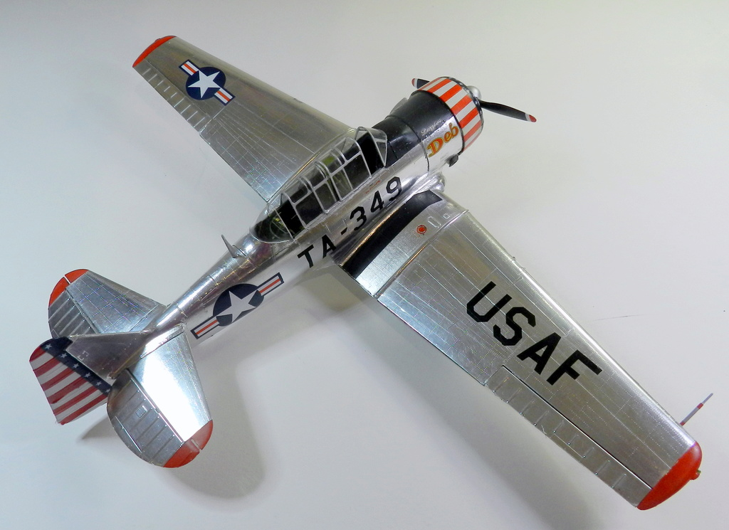 "Texan T-6 C TA-349 ""Dazzlin' Deb"" - Col. Thomas E. Murphy - 47th Flying Trainig Wing USAF F00910"