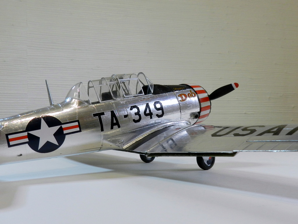 "Texan T-6 C TA-349 ""Dazzlin' Deb"" - Col. Thomas E. Murphy - 47th Flying Trainig Wing USAF F01010"