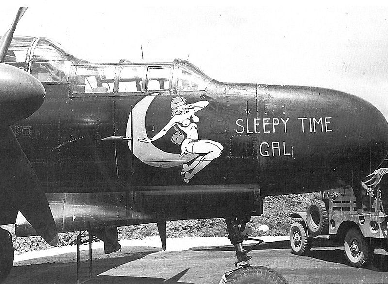 "P-61A-10 Black Widow SN 42-5598 ""Sleepy Time Gal II"" Cpt. Ernest Thomas - 6th NFS - 1945 (1/32) - Page 3 P-61a_10"