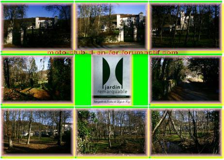 visite : 16 - Rancogne, moulin de la Forge Carte_16