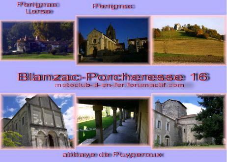 visite : 16 - Cressac St genis (Blanzac), chapelle templiers Carte_20