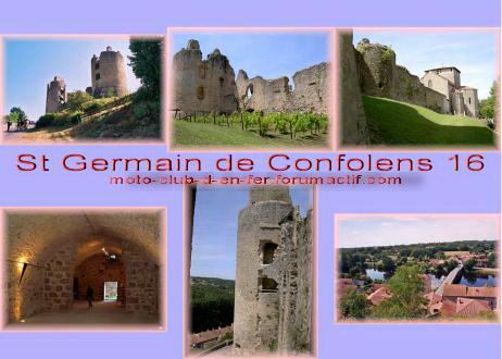 visite : 16 - St Germain de Confolens, chateau, gratuit Carte_22
