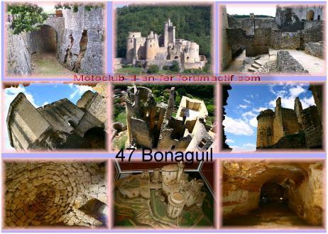 visite : 47 - Bonaguil, chateau et village Carte_32