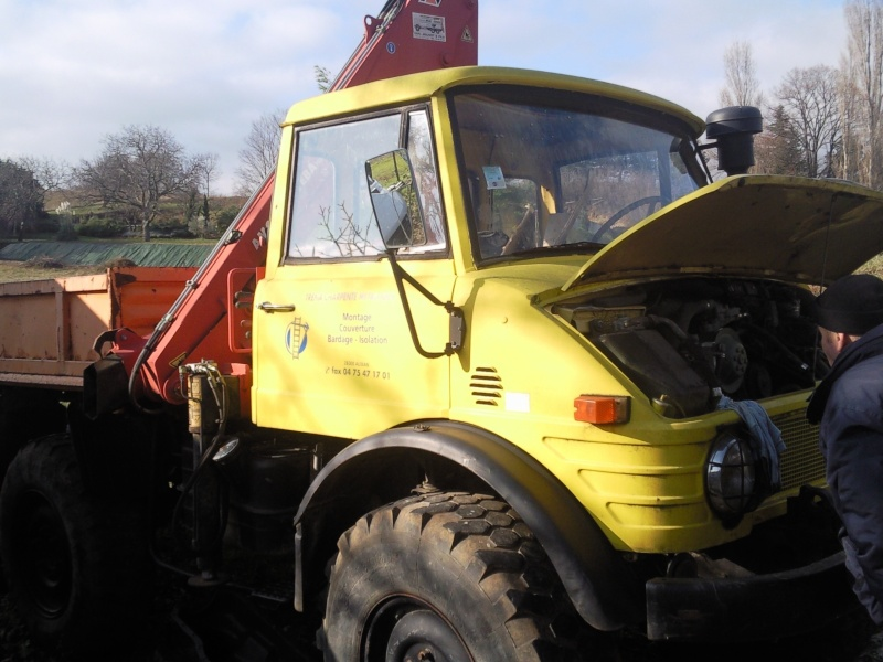 RESTAURATION UNIMOG 406 Photo012