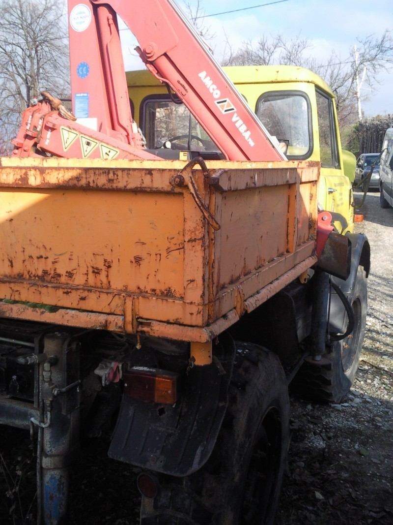 RESTAURATION UNIMOG 406 Photo013