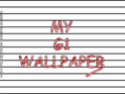 My G1 Wallaper Section! Crayon11