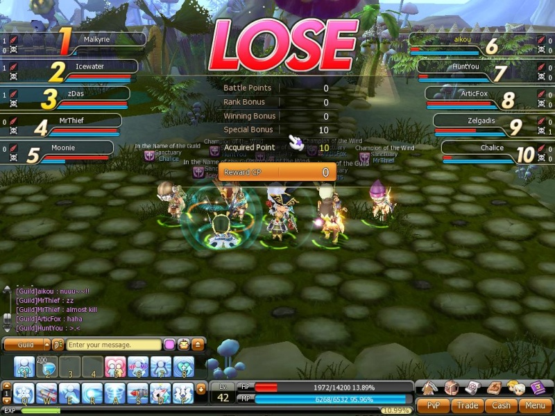First Guild player vs player game~ Firstg10