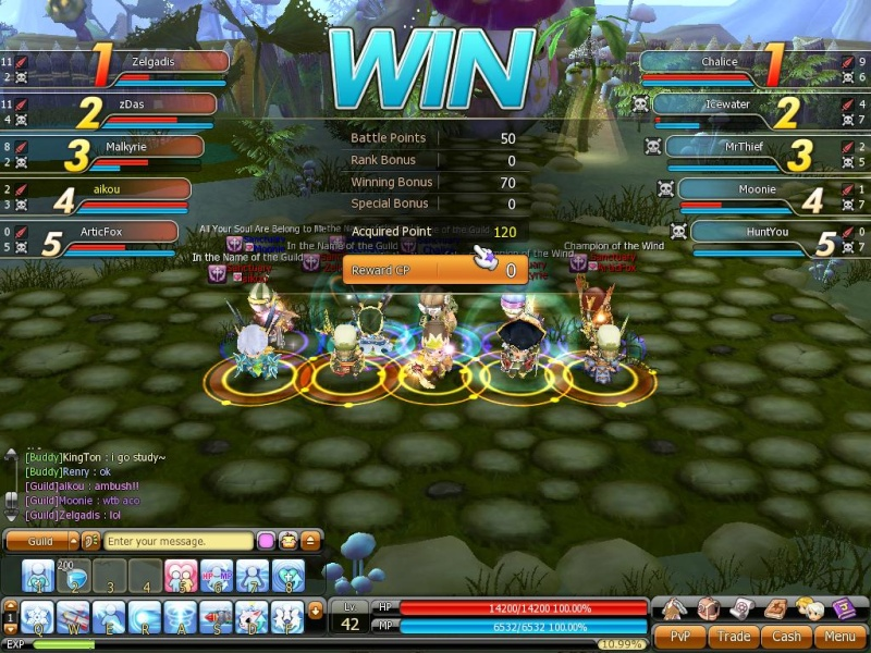 First Guild player vs player game~ Pvp_410