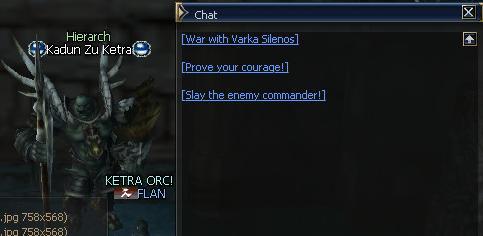 Alianza con los Ketra Orcs 1310