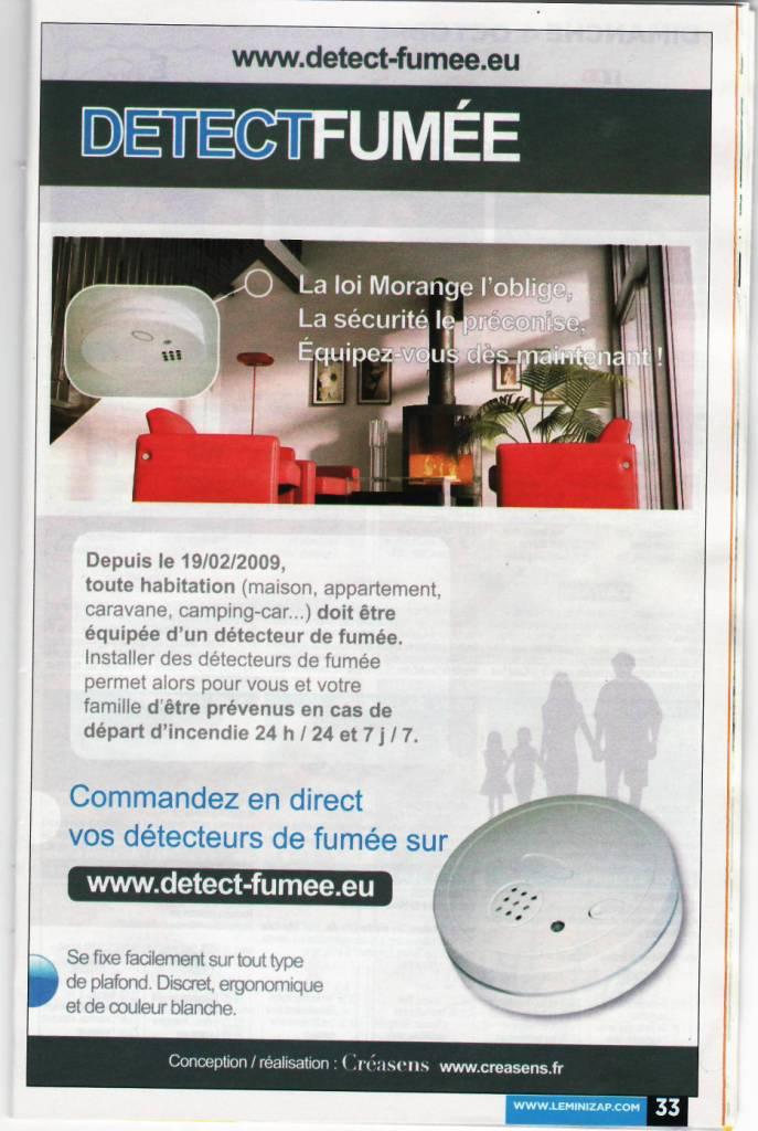 Détecteur de fumée Detect13