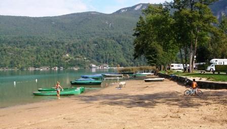 Week-end à Aiguebelette (Savoie) Plage10