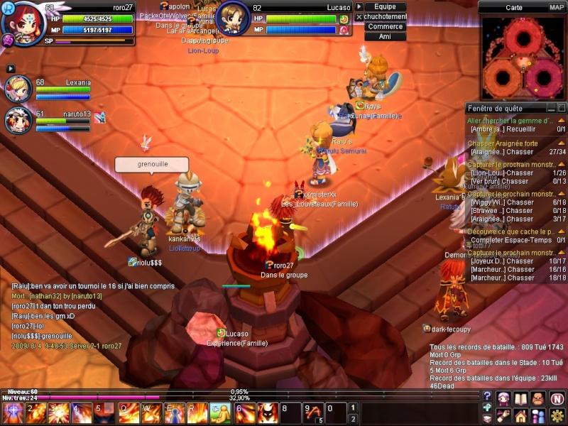 les bug et les screen fou bye roro 20090813