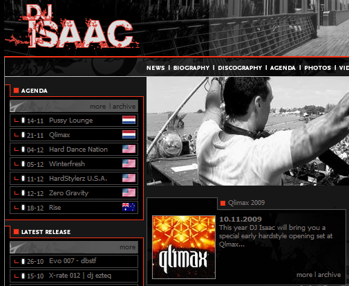 Qlimax 2009 - Broadcast live ! Isaac_10