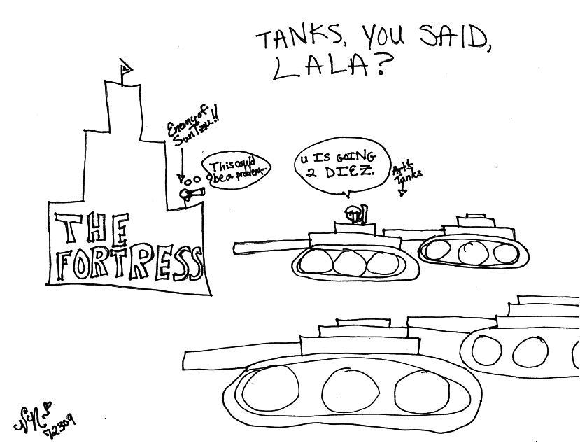 Art... No, not my nickname, like pics ^^ Tanks12
