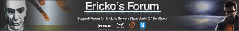 Ericko's Forum