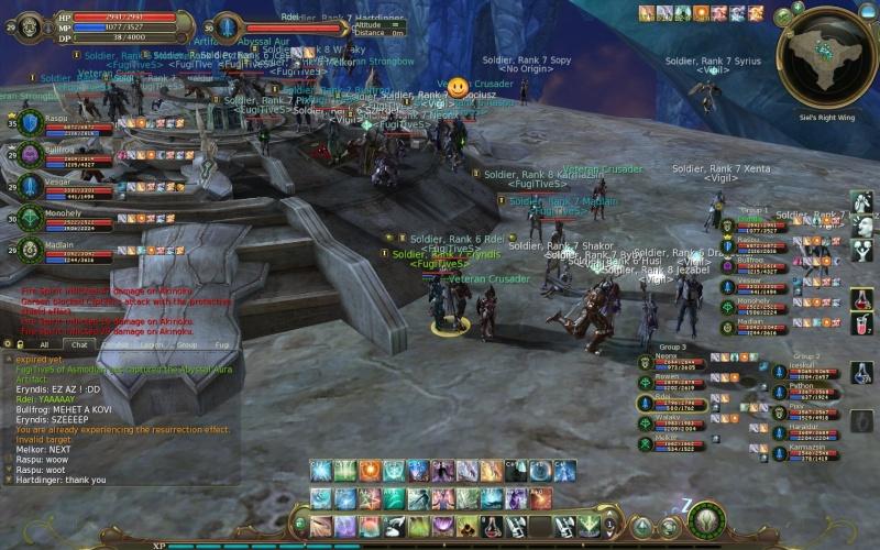 Screenshots During Artifact Siege Aion0310