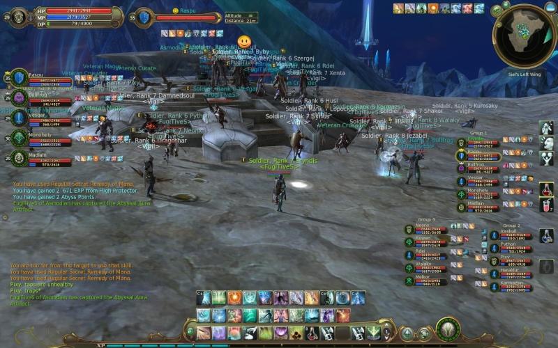 Screenshots During Artifact Siege Aion0311