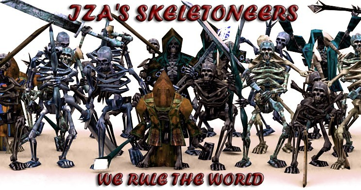 iza s skeletoneers