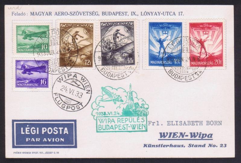 rwh's Luftpostsammlung Österreich erste Republik 1933_b10