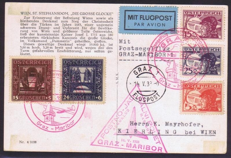 rwh's Luftpostsammlung Österreich erste Republik 1933_g10
