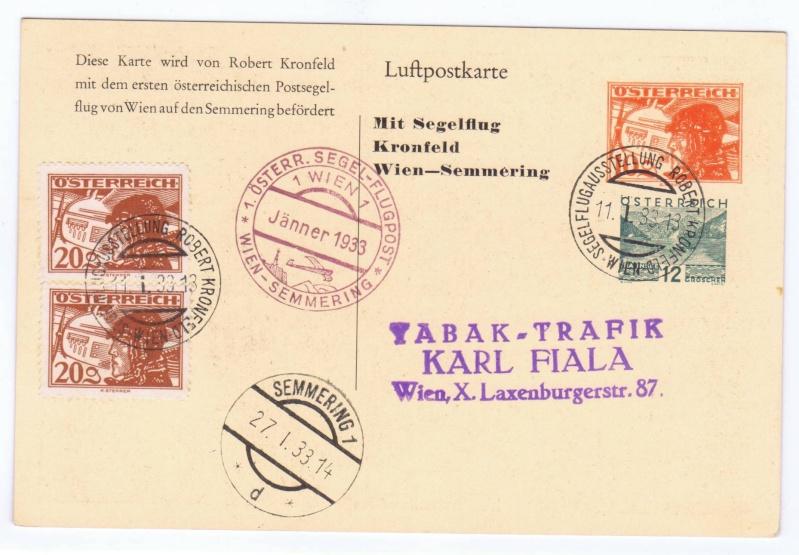 rwh's Luftpostsammlung Österreich erste Republik 1933_k12