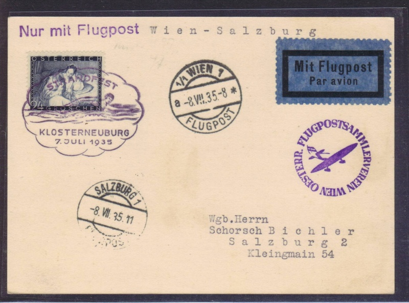 rwh's Luftpostsammlung Österreich erste Republik 1935_w10