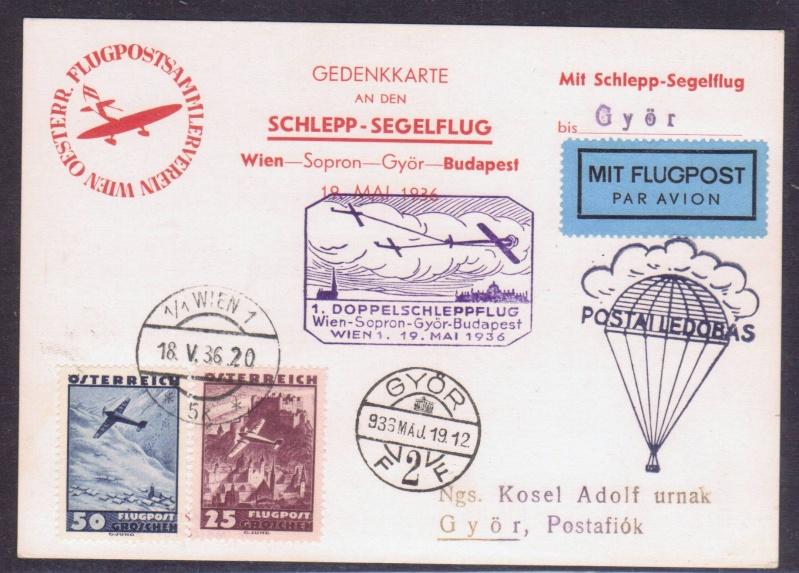 rwh's Luftpostsammlung Österreich erste Republik 1936_w10