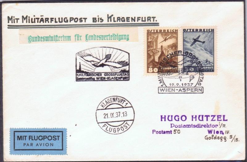 rwh's Luftpostsammlung Österreich erste Republik 1937_w12