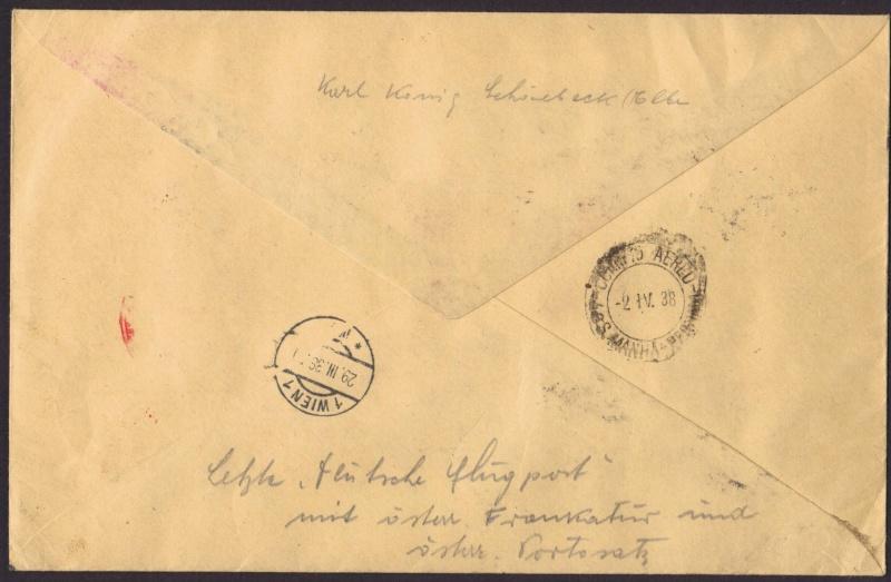 rwh's Luftpostsammlung Österreich erste Republik 1938_w11