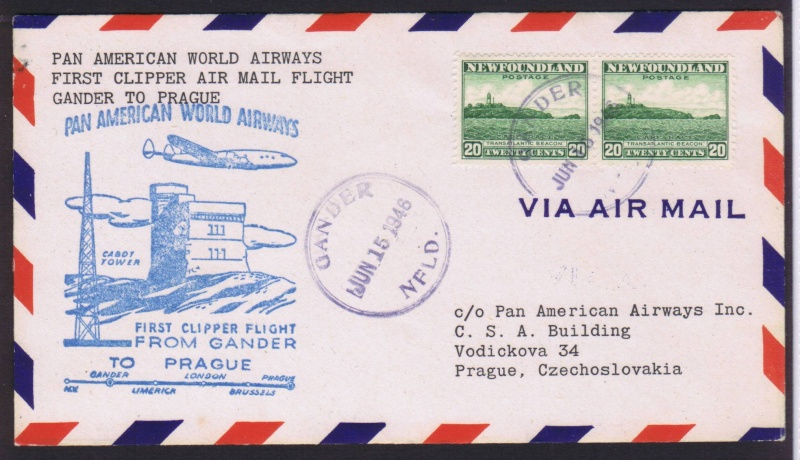 rwh's Luftpostsammlung Österreich zweite Republik 1946_g10