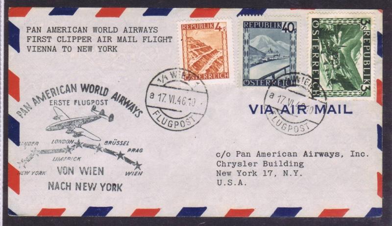 rwh's Luftpostsammlung Österreich zweite Republik 1946_w10