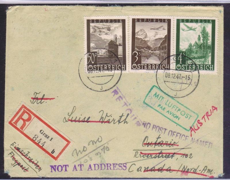 rwh's Luftpostsammlung Österreich zweite Republik 1947_f10
