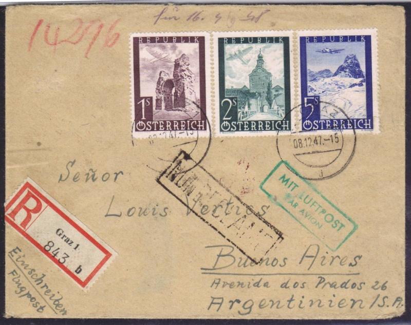 rwh's Luftpostsammlung Österreich zweite Republik 1947_f12
