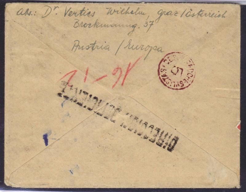 rwh's Luftpostsammlung Österreich zweite Republik 1947_f13
