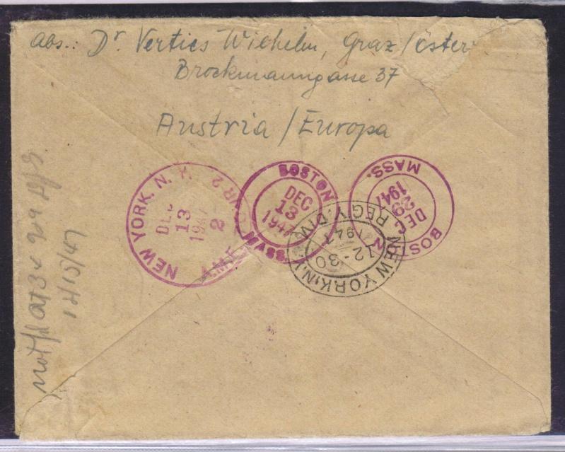 rwh's Luftpostsammlung Österreich zweite Republik 1947_f16