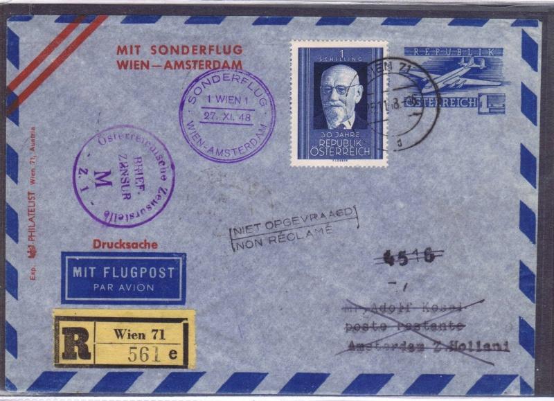 rwh's Luftpostsammlung Österreich zweite Republik 1948_w10