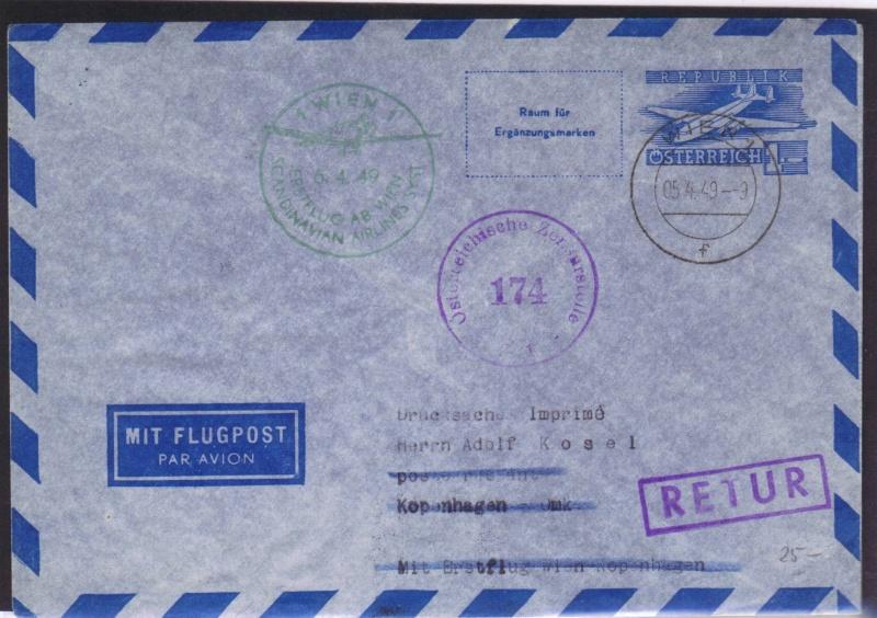 rwh's Luftpostsammlung Österreich zweite Republik 1949_w12