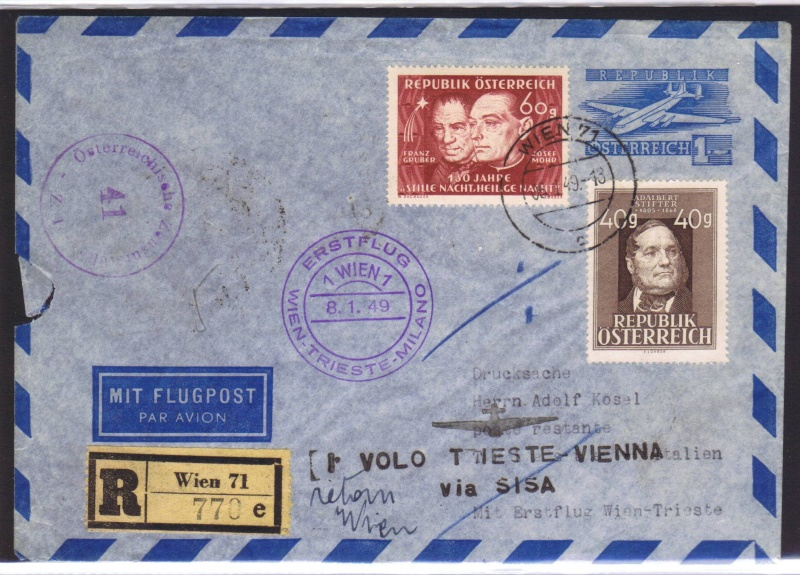 rwh's Luftpostsammlung Österreich zweite Republik 1949_w17