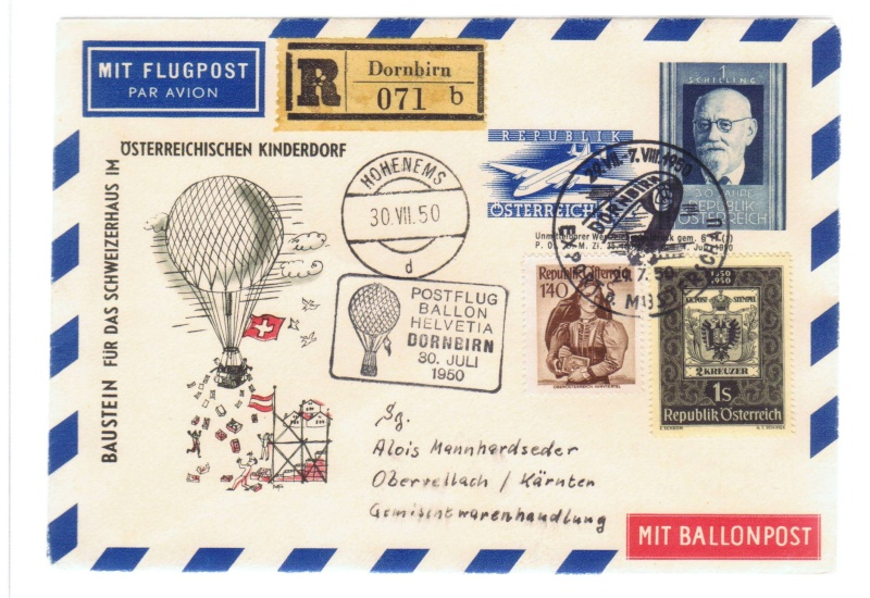 ballonpost - Ballonpostflug Pro Juventute 1_spb_10