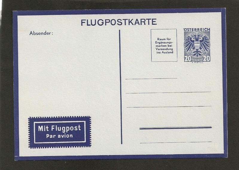 Flugpostkarten Erste Republik Aerogr10