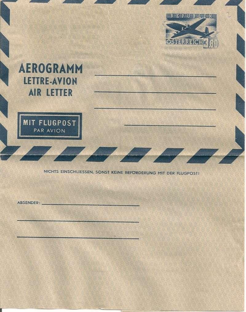 Flugpostfaltbriefe (Aerogramme) Aerogr30