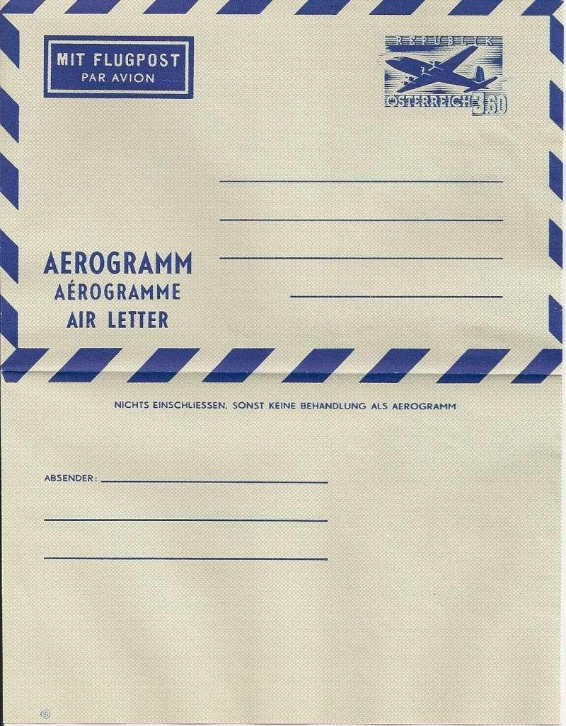 Flugpostfaltbriefe (Aerogramme) Aerogr33