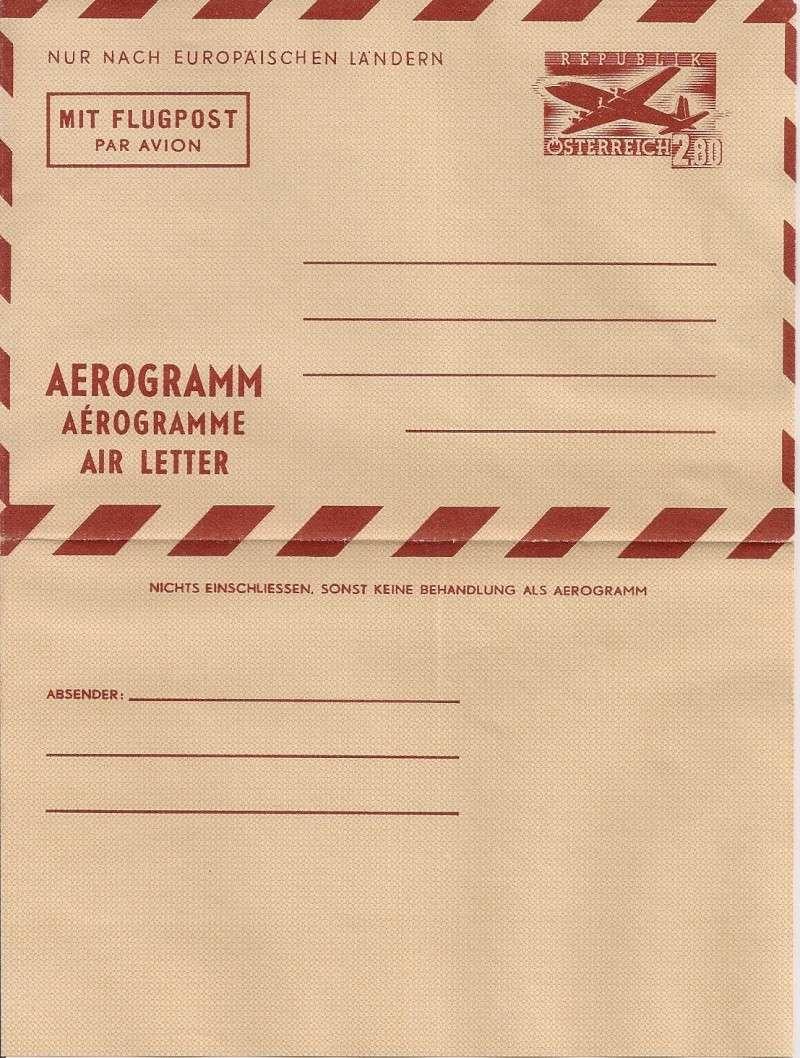 Flugpostfaltbriefe (Aerogramme) Aerogr37