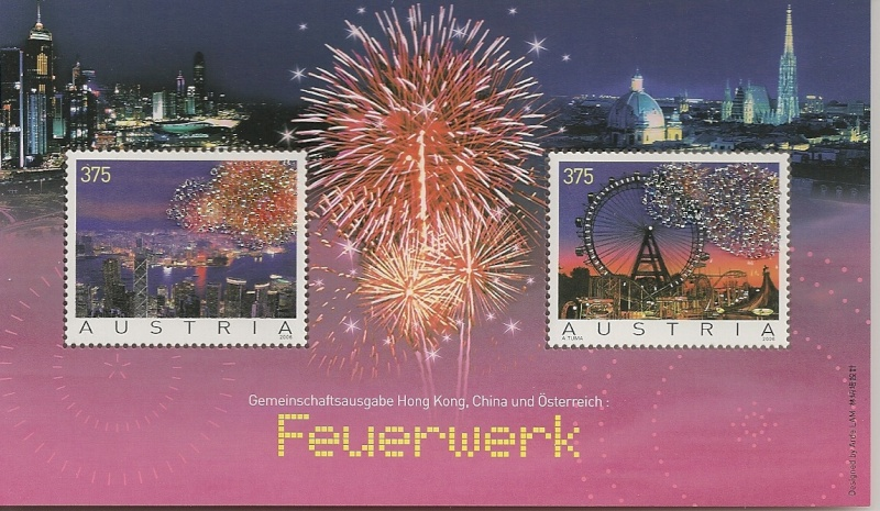Blockausgaben Nr. 38 Feuerwerk 22-8-2006 B38-fi10